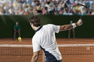 Tennis volley tips